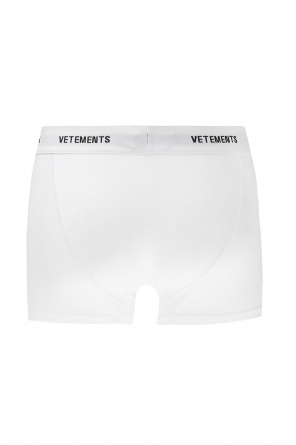 Logo-embroidered boxers od Vetements