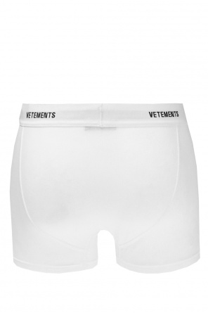 Embroidered boxers od Vetements
