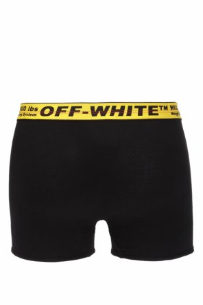 Logo-embroidered boxers od Off White