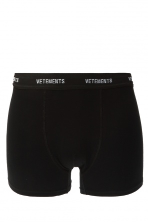 Logo boxers od Vetements