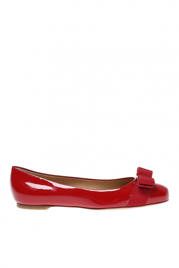 Salvatore Ferragamo 'Varina' leather ballet flats