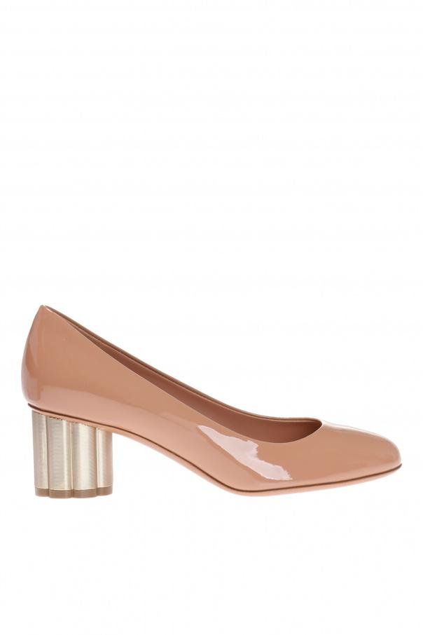 47d870556f76 Lucca  block heel pumps Salvatore Ferragamo - Vitkac shop online