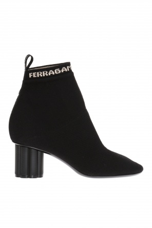 Ankle boots with sock od Salvatore Ferragamo