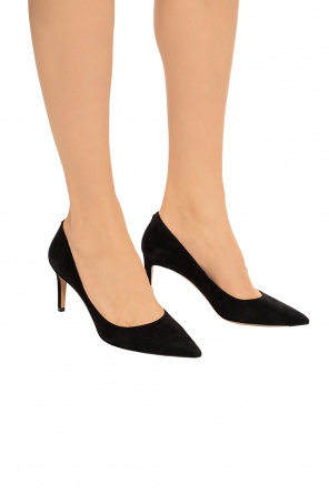 Suede pumps od Salvatore Ferragamo