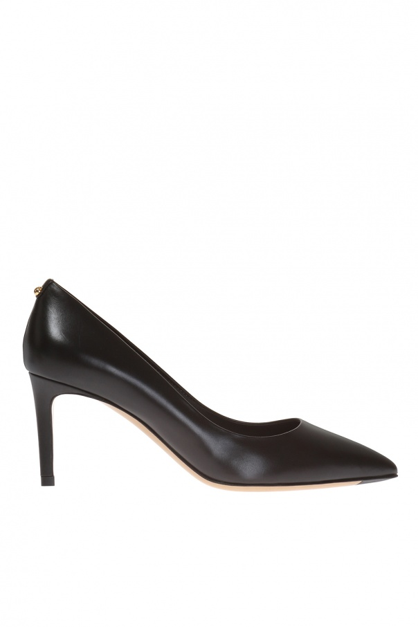 Salvatore Ferragamo Alba Leather Pumps