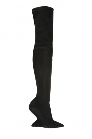 'collodi' over-the-knee boots od Salvatore Ferragamo