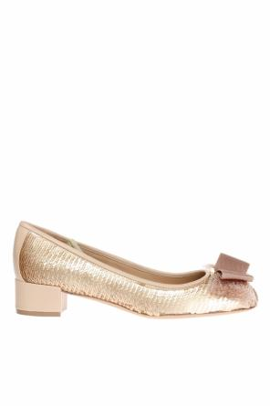 Sequinned pumps od Salvatore Ferragamo