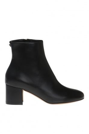 'hollow' heeled ankle boots od Salvatore Ferragamo