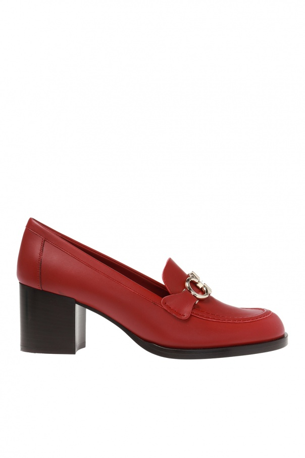 Salvatore Ferragamo Heeled leather shoes