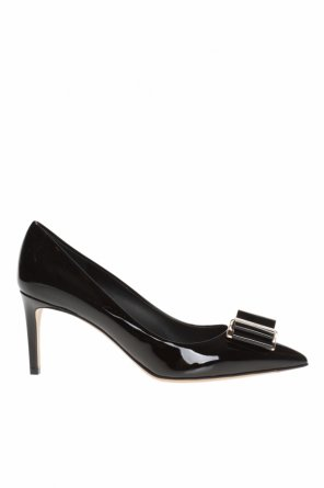 'zeri' stiletto pumps with bow od Salvatore Ferragamo