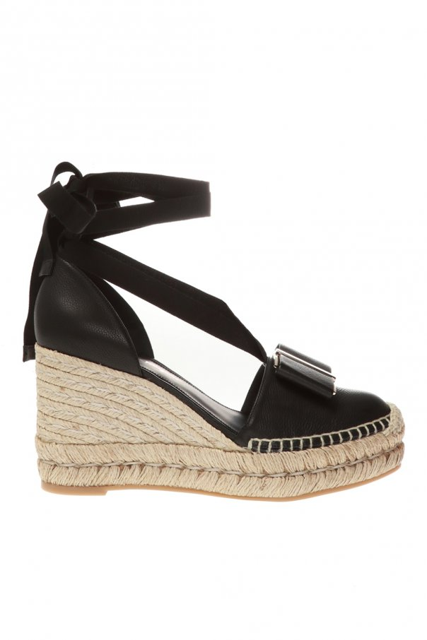 Salvatore Ferragamo 'Geranio' wedge sandals