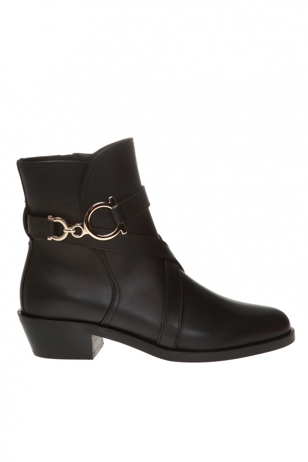 Salvatore Ferragamo 'Shadi' heeled ankle boots