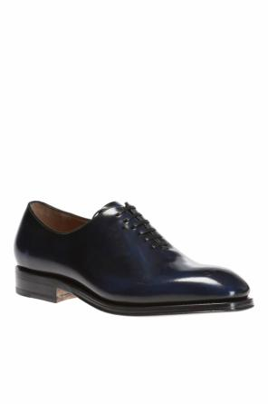 Leather oxford shoes od Salvatore Ferragamo