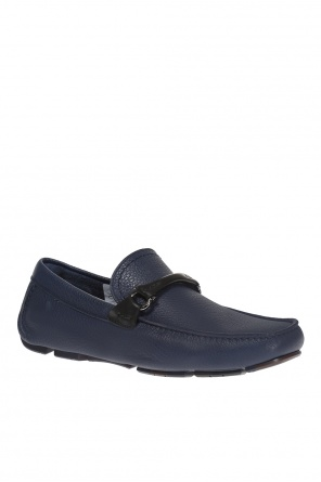 'granprix' leather moccasins od Salvatore Ferragamo
