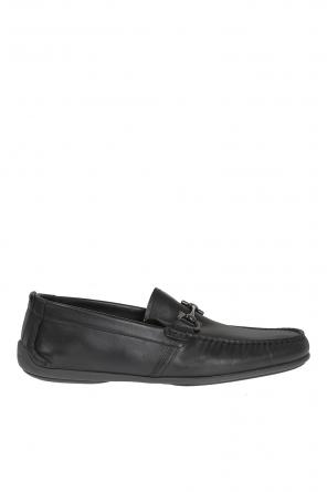 'gubbio' leather moccasins od Salvatore Ferragamo