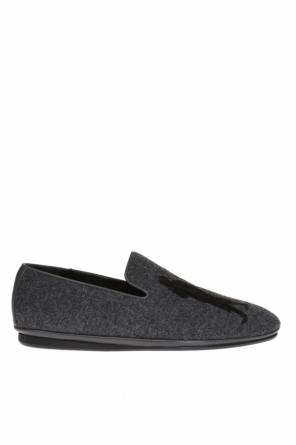Embroidered loafers od Salvatore Ferragamo