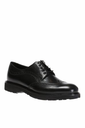 Leather derby shoes od Salvatore Ferragamo