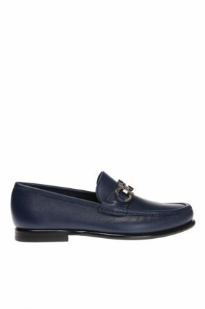 Buty 'crown' typu 'loafers' od Salvatore Ferragamo