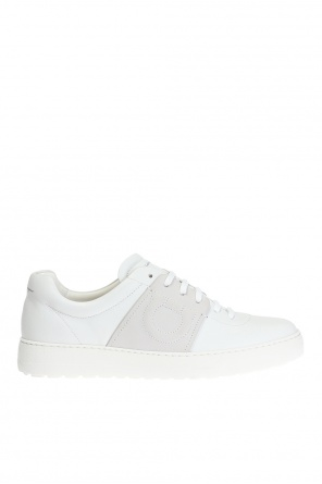 Logo-embroidered sneakers od Salvatore Ferragamo