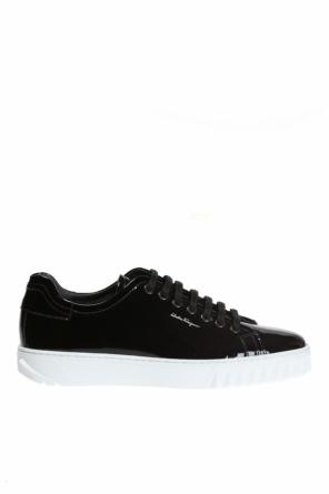 Patent leather sneakers od Salvatore Ferragamo