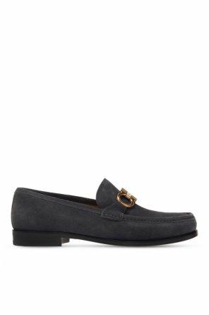 'rolo' suede loafers od Salvatore Ferragamo