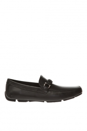 'stuart' leather moccasins od Salvatore Ferragamo