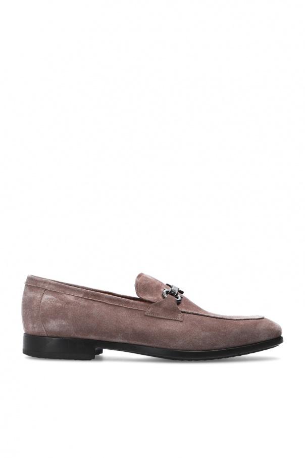 Salvatore Ferragamo 'Nebbiolo' leather moccasins