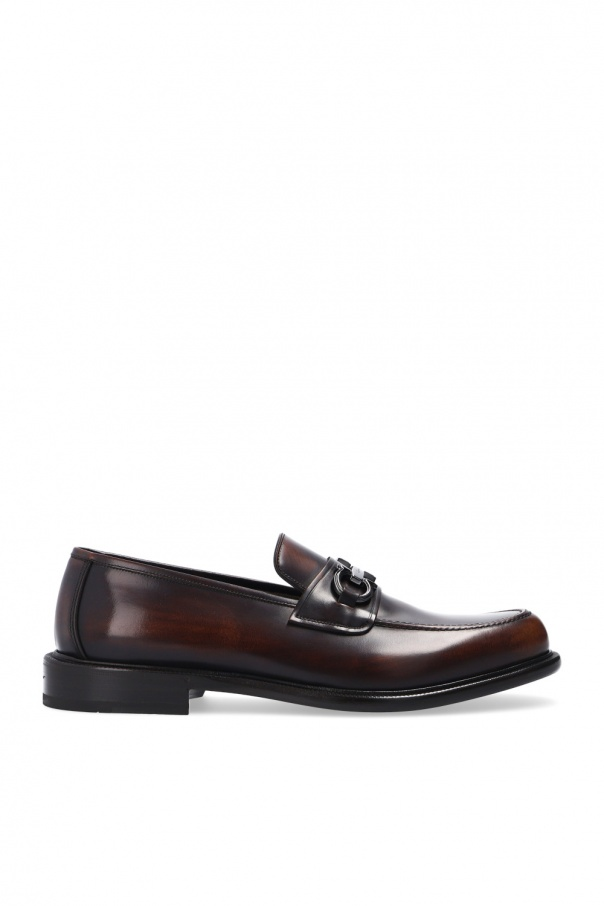 Salvatore Ferragamo 'Rodney' leather moccasins
