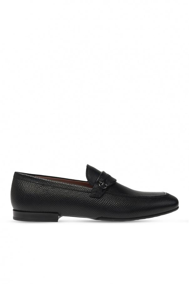 Salvatore Ferragamo 'Raion' leather moccasins