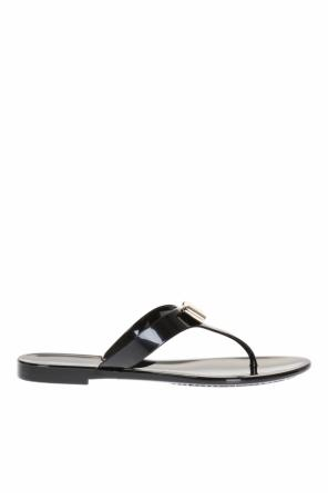 Flip-flops with bow od Salvatore Ferragamo