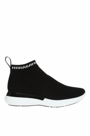 Sneakers with sock od Salvatore Ferragamo