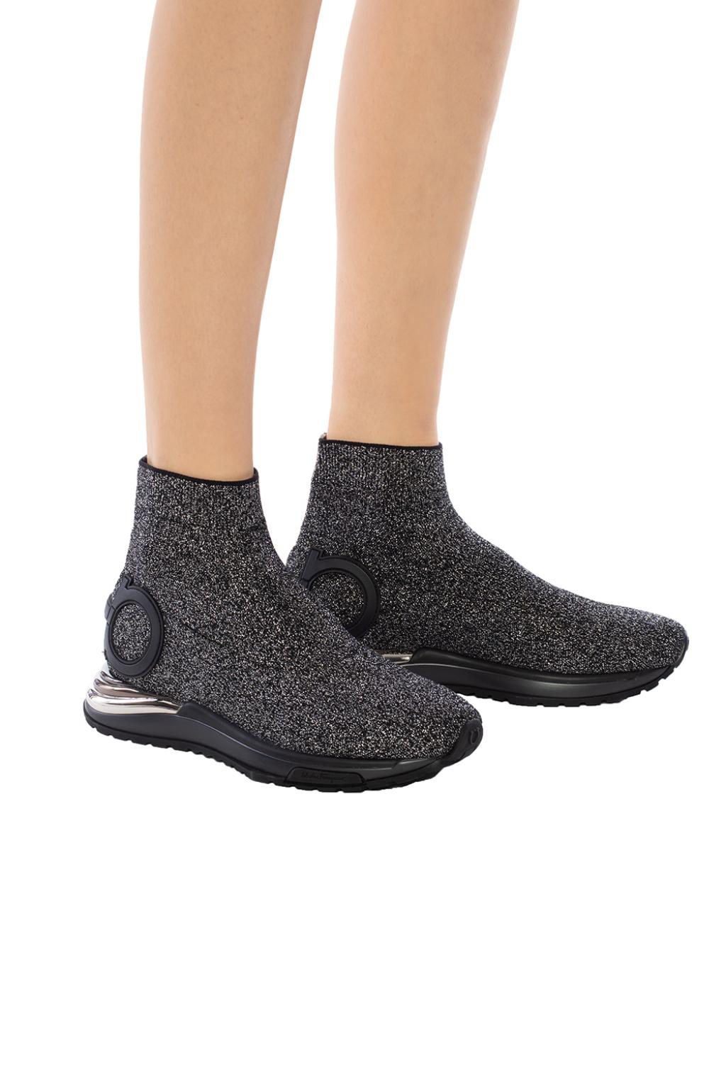 Salvatore Ferragamo 'Gardena' sock sneakers