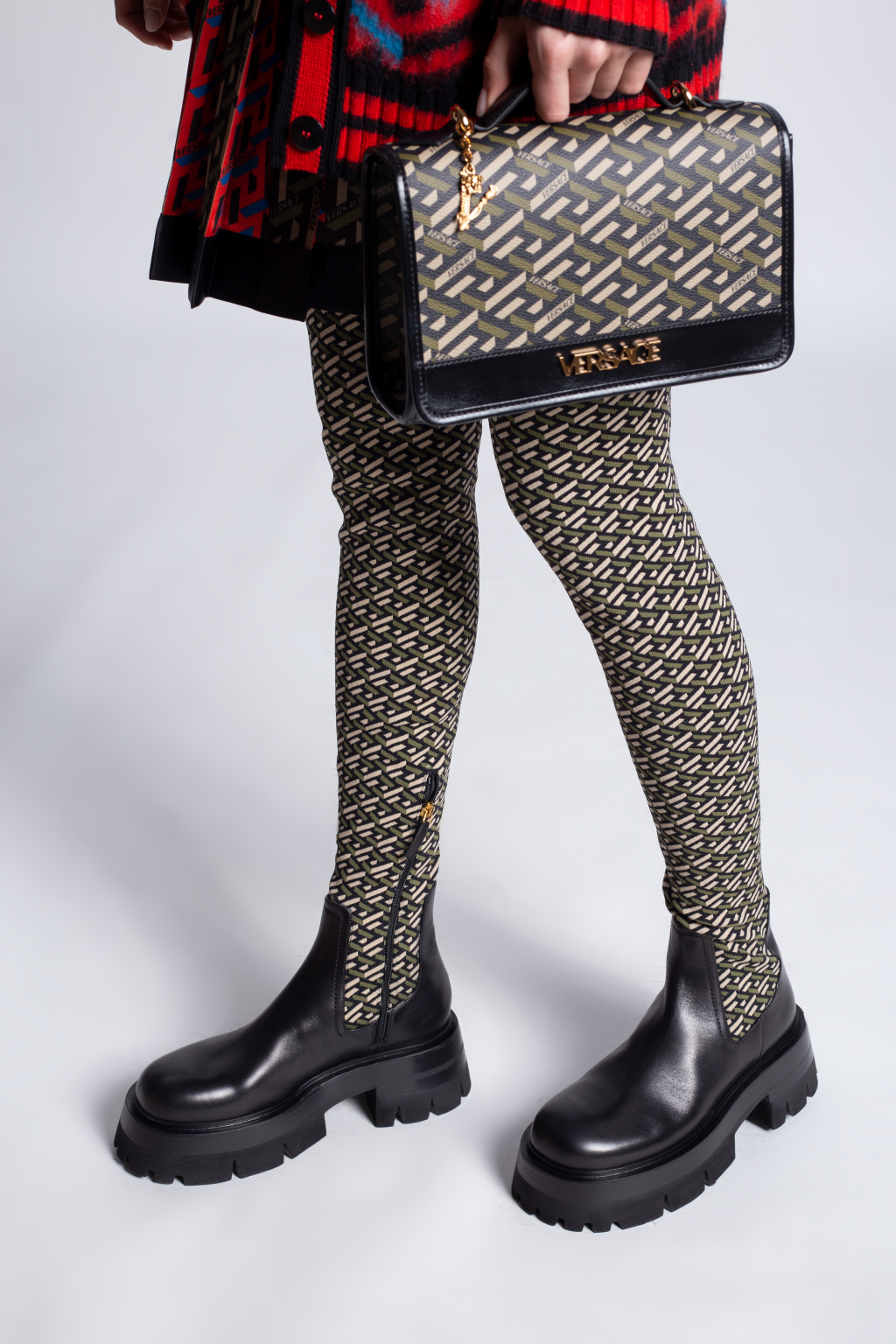 Versace Over-the-knee boots