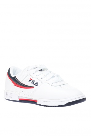 Logo-embroidered sneakers od Fila