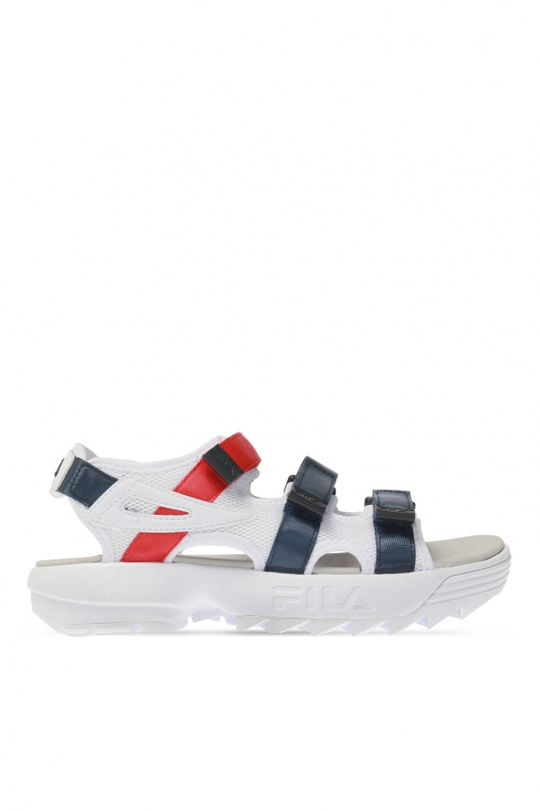 Fila 'Disruptor' sandals with logo