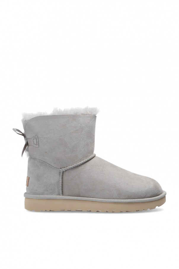 UGG 'W Mini Bailey Bow II' suede snow boots