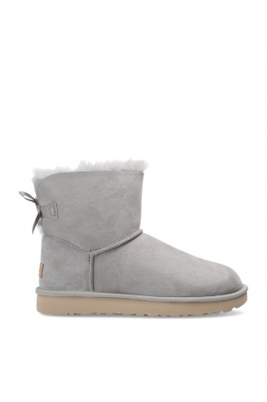 'w mini bailey bow ii' suede snow boots od UGG