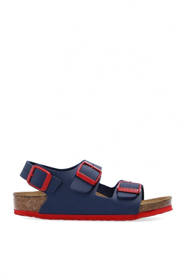 Birkenstock Kids 'Milano' leather sandals
