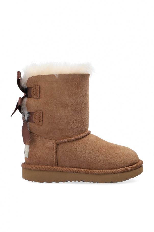 UGG Kids 'K Bailey Bow II' snow boots