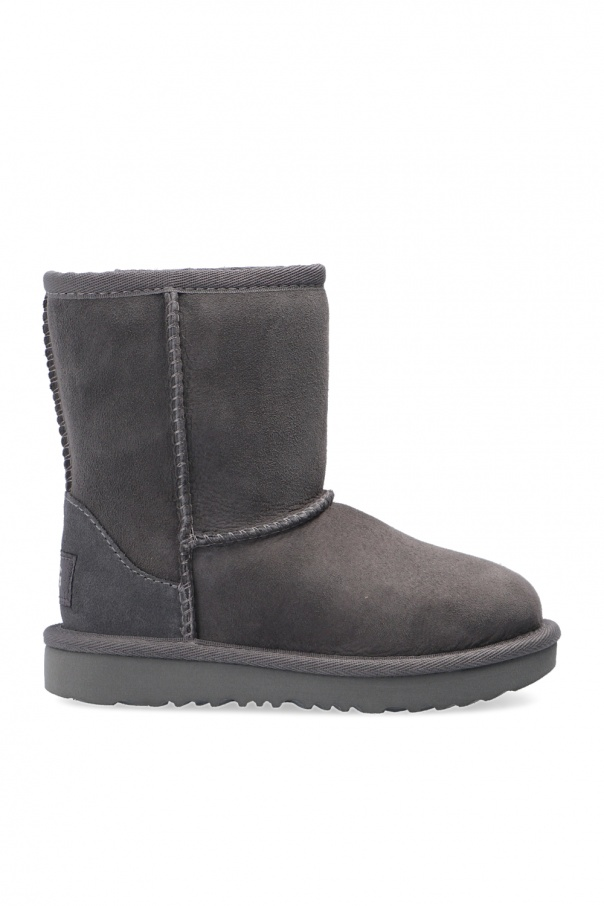 UGG Kids 'T-Classic' suede snow boots
