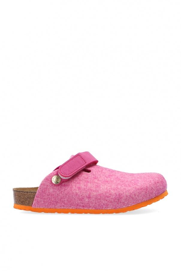 Birkenstock Kids 'Zimba' wool felt slippers