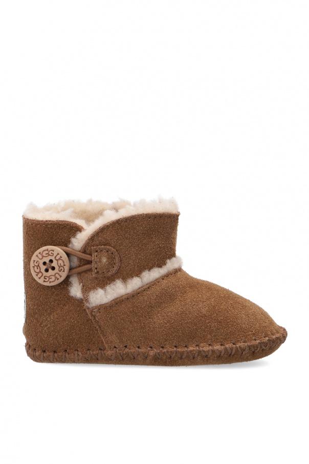 UGG Kids 'Lemmy II' suede snow boots
