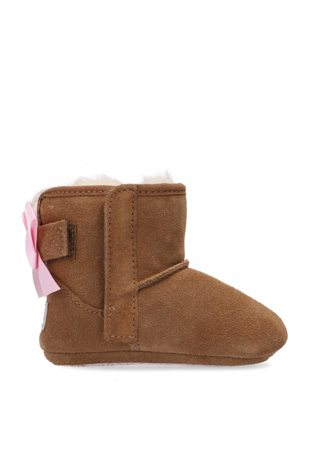 UGG Kids 'Jesse Bow II' suede snow boots