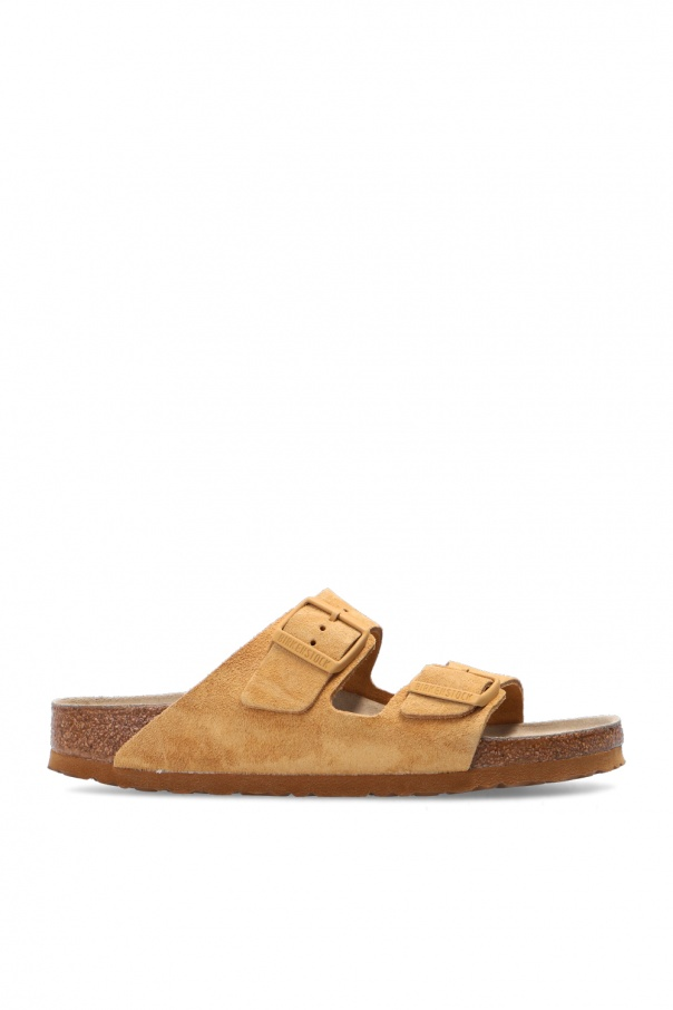 Birkenstock 'Arizona BS' leather slides