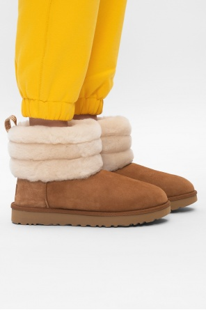 'w fluff mini quilted' snow boots od UGG