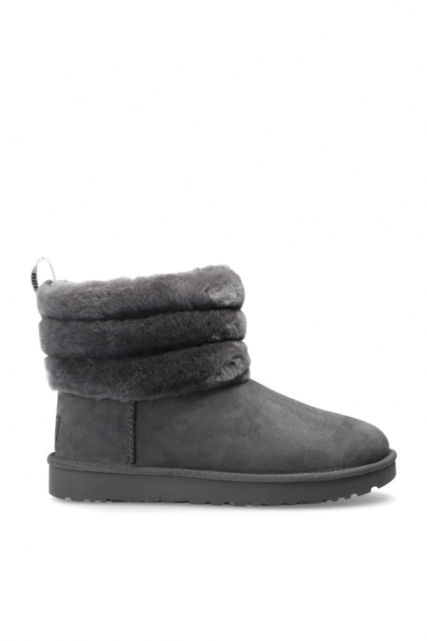 UGG 'W Fluff Mini Quilted' waterproof snow boots