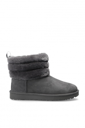 'w fluff mini quilted' waterproof snow boots od UGG