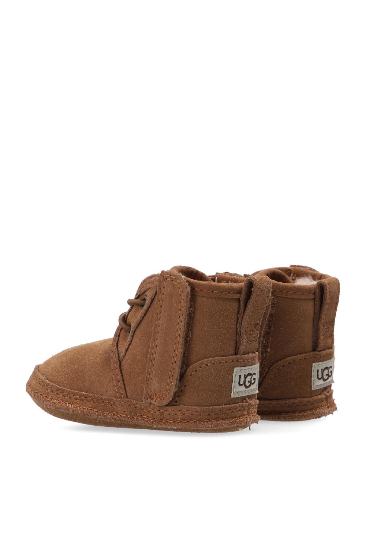 UGG Kids 'Baby Neumel' suede snow boots