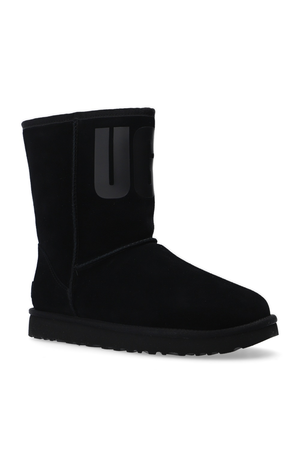 UGG 'W Classic Short' suede snow boots