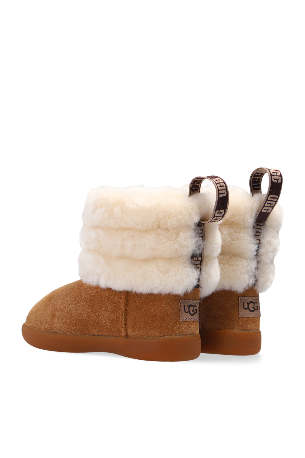 UGG Kids 'Mini Quilted Fluff' snow boots